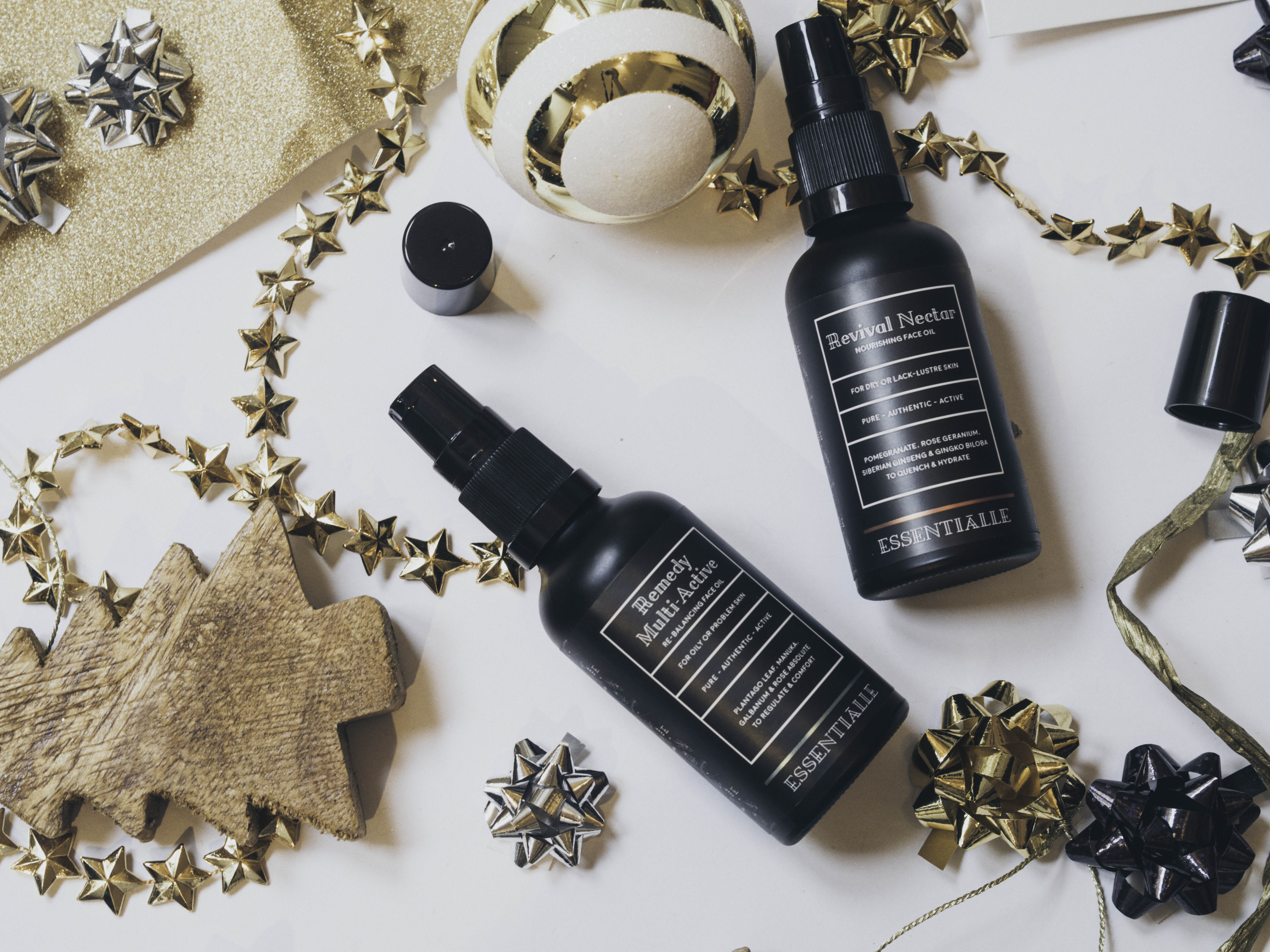 Essentialle facial oil New year - New winter skincare routine!
